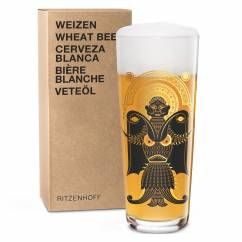 WHEAT BEER Wheat Beer Glass by Christian Montenegro