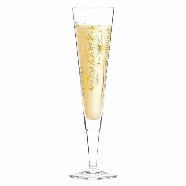 Champus Champagnerglas von Andrea Hilles