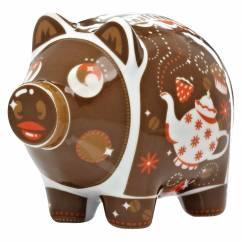 Mini Piggy Bank Set of 3 by Nils Kunath