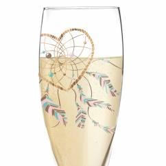 Pearls Edition Prosecco Glass by Ramona Rosenkranz (Heart)