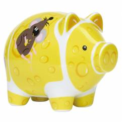 Mini Piggy Bank Set of 3 by Ramona Rosenkranz