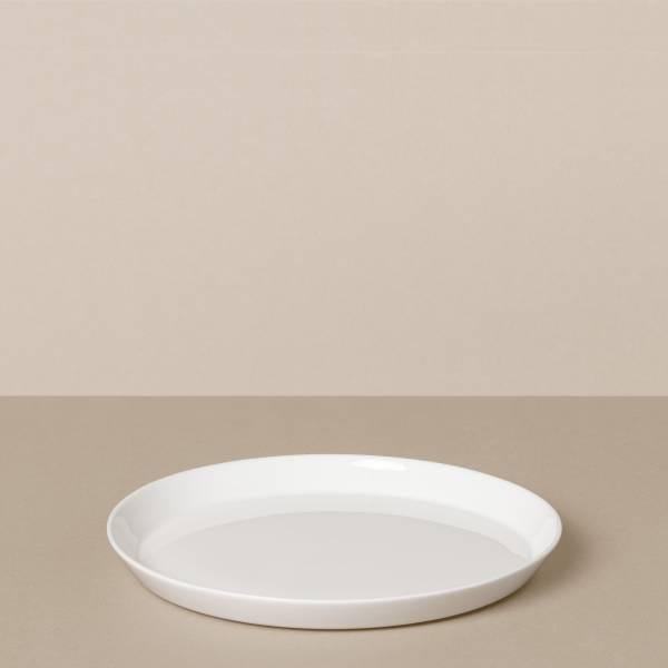 Dessertteller in Weiß