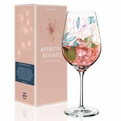 Aperitivo Rosato Aperitif Glass by Véronique Jacquart