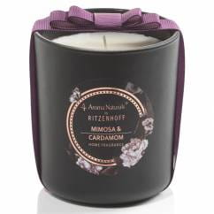Noir scented candle large, Mimosa & Cardamom