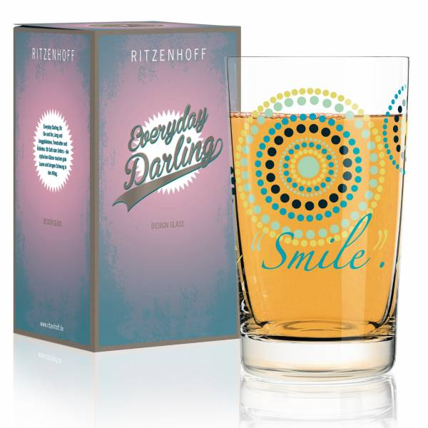 Everyday Darling Softdrinkglas von Sandra Brandhofer