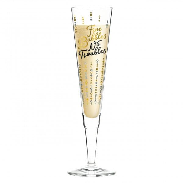 Champus Champagnerglas von Oliver Melzer
