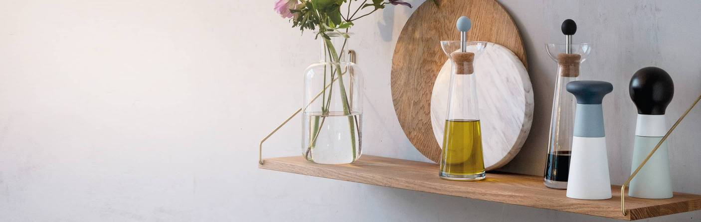 Vinegar & oil carafes - individual kitchen helpers