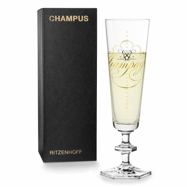 CHAMPUS Champagnerglas von Peter Horridge